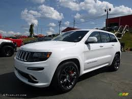 jeep srt 2014 2014 bright white jeep grand cherokee srt 4x4 106985262