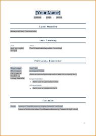 Basic Resume Samples Pdf by Home Design Ideas Resume Sample Format In Pdf In Sample Cv For