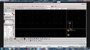 virtuoso layout design basics cadence ic6 1 6 6 1 7 virtuoso tutorial 1 part 4 layout design and