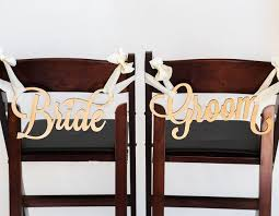 Wedding Chair Signs 21 Cutest Most Creative Mr And Mrs Signs For Your Wedding