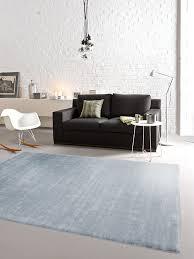 Schlafzimmer Teppich Taupe Benuta Teppiche Moderner Designer Teppich Opus Cosiness Blau