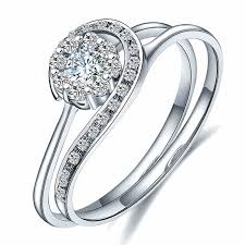 sterling diamond rings images 925 sterling silver plated in 18k white gold combination jpg