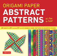 Quality Sheets Origami Paper Abstract Patterns 8 1 4