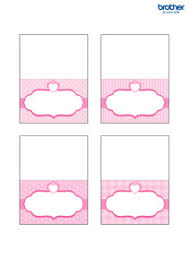 printable placecards printable princess party decorations supplies free templates