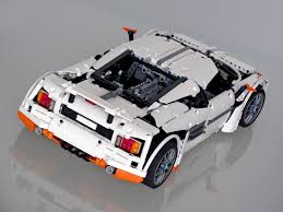 lego koenigsegg one 1 technicbricks there is a predator in the highway