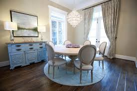 stylecraft in dining room shabby chic with pedestal table base