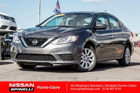 nissan canada payment calculator used 2016 nissan sentra s for sale in montreal p7239 spinelli
