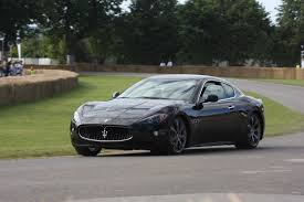 maserati granturismo sport black maserati quattroporte s and granturismo s make their driving debut