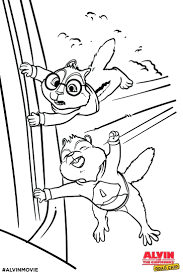 articles alvin chipmunks coloring pages