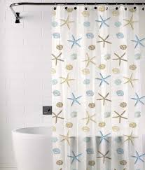 Threshold Medallion Shower Curtain by Blue And Beige Shower Curtain Home Decor Xshare Us