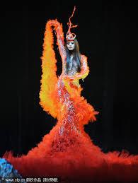 Phoenix Halloween Costume Fashion Art Guo Pei Guo Pei Phoenix Couture