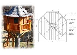 treehouse home plans tree house plans 10 hexagon treehouse plan standard treehouse plans