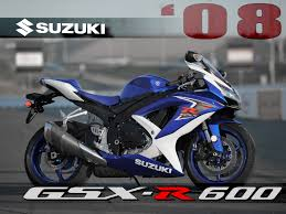 cbr 6oo 2008 suzuki gsx r600 comparison motorcycle usa