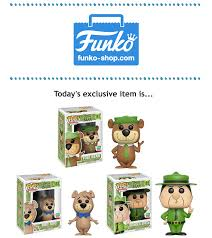 funko shop wednesday yogi bear boo boo u0026 ranger smith pop 3