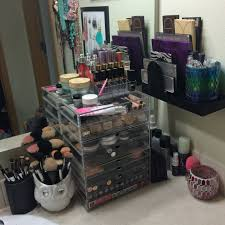 Bathroom Vanity With Makeup Counter by Post Photos Of Your Vanity Makeup Table Bathroom Counter Purseforum