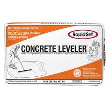 rapid set 50 lb cts concrete leveler 186010050 the home depot