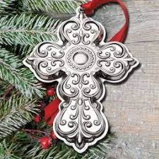 2017 cross ornaments sterling collectables