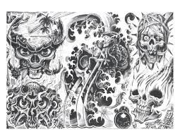 designs tribal with meaning free pics of skulls