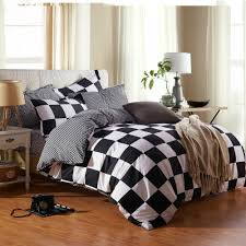 Black And White Bed Sheets Compare Prices On Orange Bed Set Online Shopping Buy Low Price