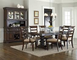 Trestle Dining Room Table by Charleston Trestle Dining Set W Hutch And Buffet By Standard