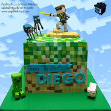 A Birthday Cake Minecraft Five Nights At Freddy U0027s Cake Cakes By The Regali Kitchen