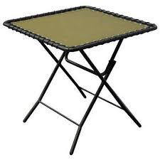 Folding Outdoor Side Table Black Outdoor Side Tables Patio Tables The Home Depot