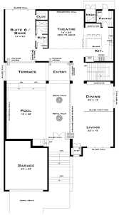 100 modern residential floor plans roof flat roof modern
