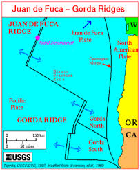 physical map of oregon juan de fuca plate juan de fuca plate revolvy