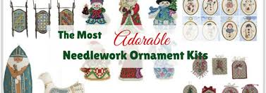 the most adorable needlework ornament kits munofore