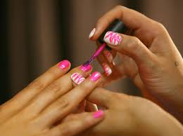 the 17 emotional stages of painting your nails because how the