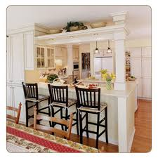 kitchen bar ideas open to the dining area this remodeled kitchen in palatine is
