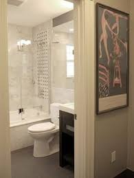 5x8 Bathroom Layout by 5x8 Small Space Bathroom Shower Across From Pocket Door Toilet