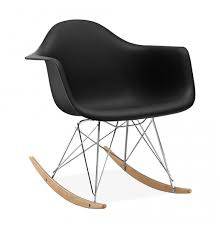 chaise a bascule eames chaise à bascule rar style eames secret design