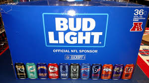 how much is a 36 pack of bud light new bud light 36 pack nfl team cans viola s wine spirits facebook
