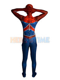 spider punk costume 3d printing punk rock spider man costume