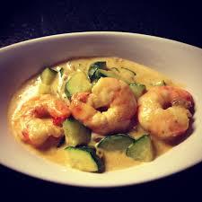 cuisiner des courgettes light recette curry de courgettes et crevettes recettes