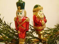Metal Toy Soldiers Christmas Decorations by Baldwin Toy Soldiers Ornament Brass Covered In 24k Gold