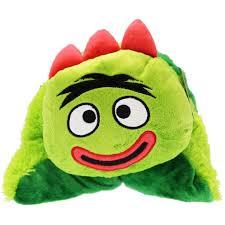 Yo Gabba Gabba Bed Set Yo Gabba Gabba Bedding Brobee Huggie Pillow At Toystop