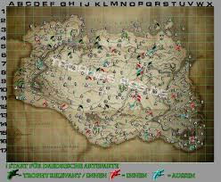 Solstheim Map Trophäen Leitfaden The Elder Scrolls V Skyrim The Elder