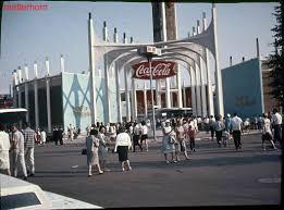 1964 World S Fair Map by Stuff From The Park New York World U0027s Fair Part 1