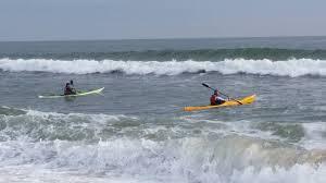 thanksgiving weekend surf session kayak tom