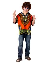 60s Halloween Costumes Dashiki Shirt Costume Mens 60s Halloween Costumes