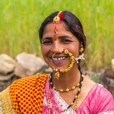 hindu nose ring woman with large nose ring jewelry india