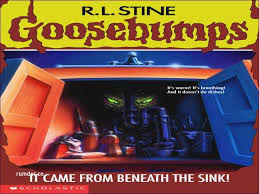 printable goosebumps bookmarks goosebumps it came from beneath the sink pdf awesome blog