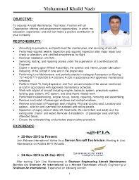 A P Mechanic Resume Khalid Nazir Resume 1