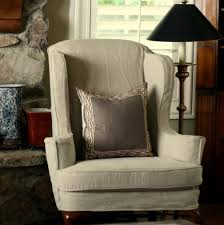 Wing Back Chair Slip Covers The Beautiful Slipcovers For Wingback Chairs
