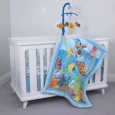 Fish Crib Bedding by Disney Baby Nemo 3 Piece Crib Bedding Set Toys