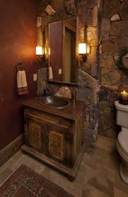 Wood Bathroom Vanities Cabinets by Mosaic Tile Wall Rustic Bathroom Vanities And Cabinets Rustic
