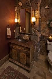 Log Cabin Bathroom Vanities by Mosaic Tile Wall Rustic Bathroom Vanities And Cabinets Rustic