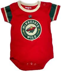 New England Patriots Newborn Clothes Minnesota Wild T Shirt Collection